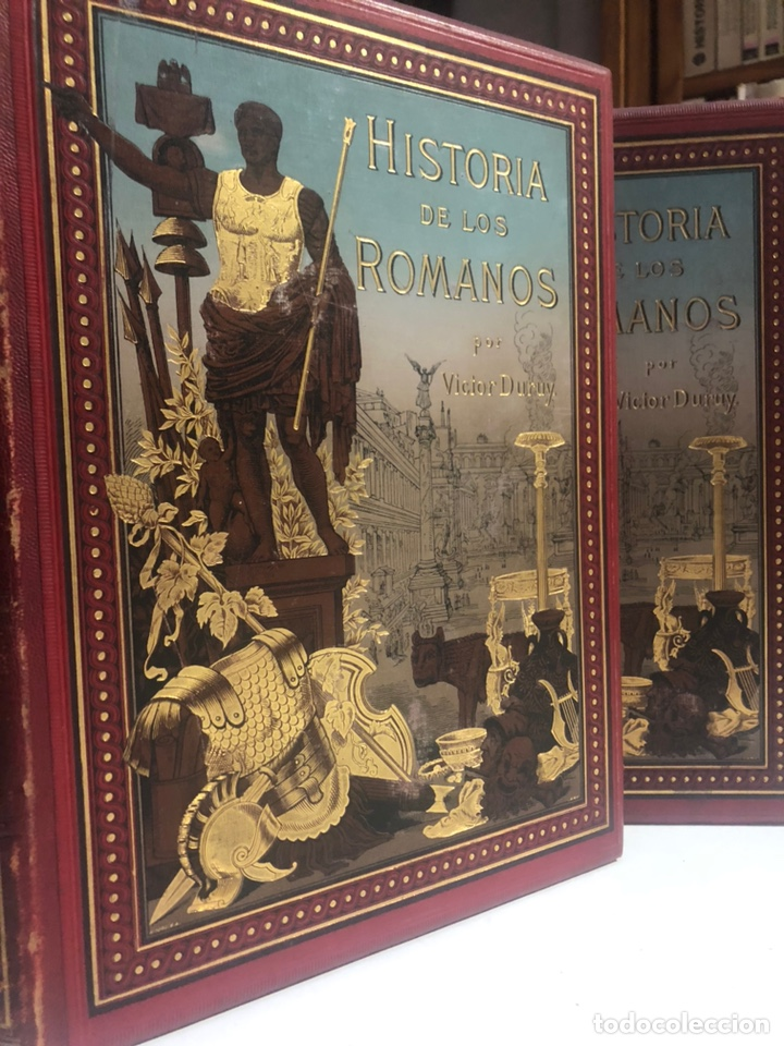 HISTORIA DE LOS ROMANOS. DURUY, VICTOR. BARCELONA: MONTANER Y SIMÓN, 1888. FOLIO. 2 TOMOS. (Libros antiguos (hasta 1936), raros y curiosos - Historia Antigua)