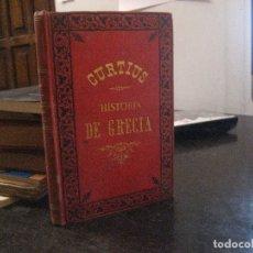 Libros antiguos: 1888 HISTORIA DE GRECIA DE ERNESTO CURTIUS TOMO VIII. Lote 177623465