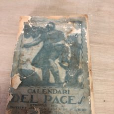 Libros antiguos: CALENDARI DEL PAGES. Lote 177669795