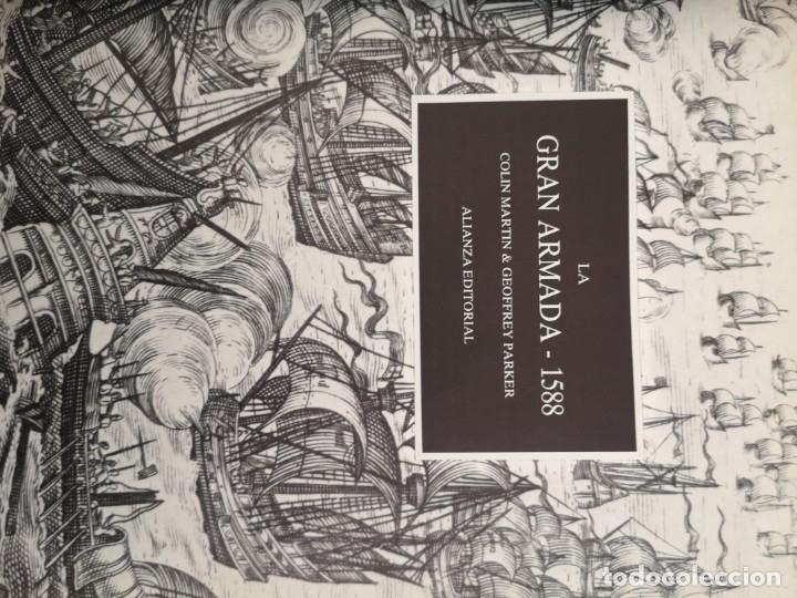 Libros antiguos: La gran armada 1588 Colin Martin - Foto 2 - 177723957