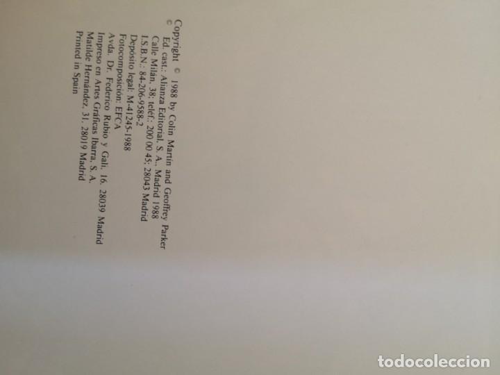 Libros antiguos: La gran armada 1588 Colin Martin - Foto 3 - 177723957