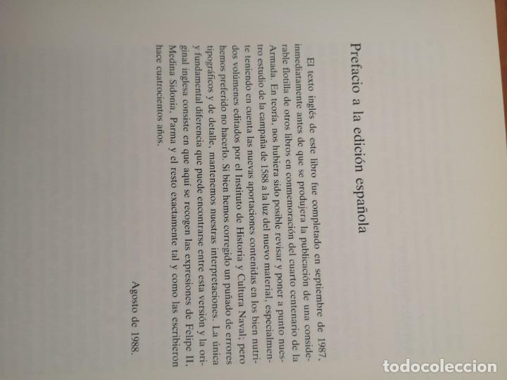 Libros antiguos: La gran armada 1588 Colin Martin - Foto 4 - 177723957