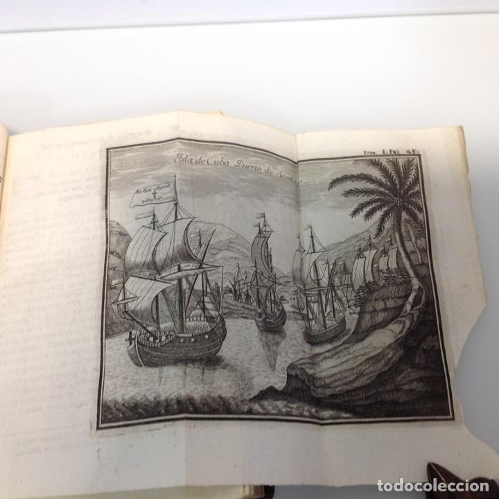 Libros antiguos: HISTORIA DE LA CONQUISTA DE MEXICO ANTONIO DE SOLIS Y RIBADENEYRA 1771 2 TOMOS - Foto 3 - 175164617