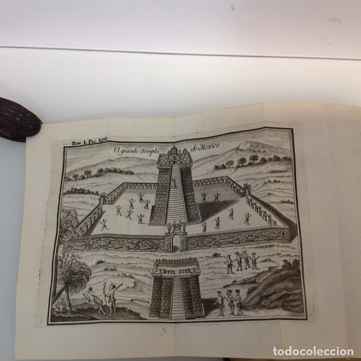 Libros antiguos: HISTORIA DE LA CONQUISTA DE MEXICO ANTONIO DE SOLIS Y RIBADENEYRA 1771 2 TOMOS - Foto 5 - 175164617