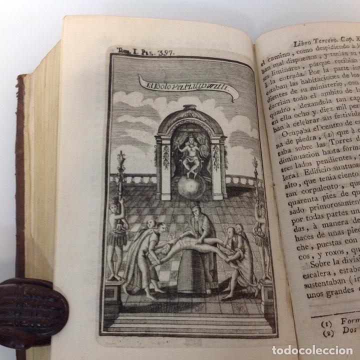 Libros antiguos: HISTORIA DE LA CONQUISTA DE MEXICO ANTONIO DE SOLIS Y RIBADENEYRA 1771 2 TOMOS - Foto 6 - 175164617