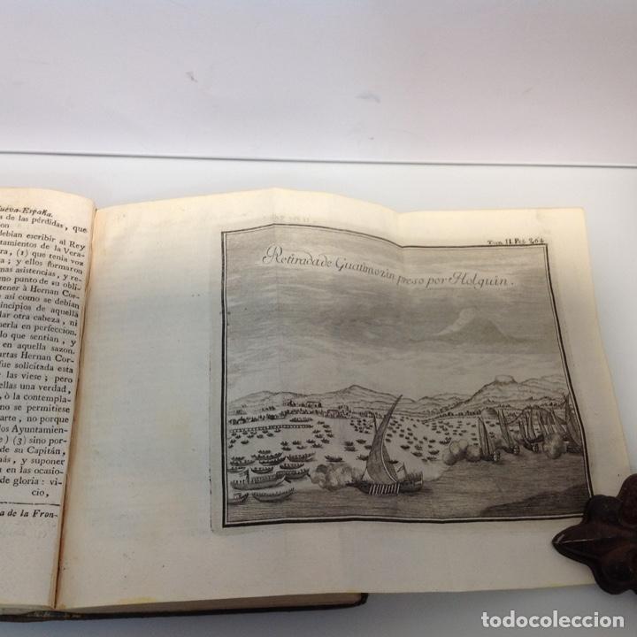 Libros antiguos: HISTORIA DE LA CONQUISTA DE MEXICO ANTONIO DE SOLIS Y RIBADENEYRA 1771 2 TOMOS - Foto 8 - 175164617