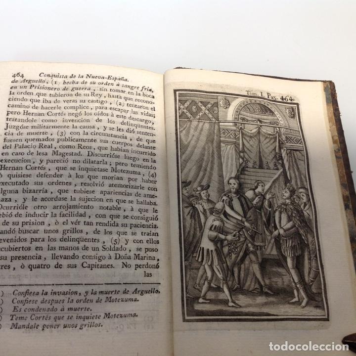 Libros antiguos: HISTORIA DE LA CONQUISTA DE MEXICO ANTONIO DE SOLIS Y RIBADENEYRA 1771 2 TOMOS - Foto 9 - 175164617