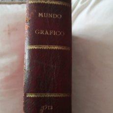 Libros antiguos: LIBRO MUNDO GRÁFICO II. 1912. Lote 178354293
