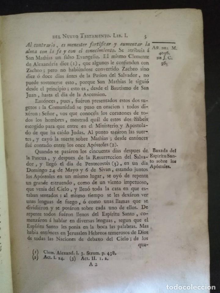 Libros antiguos: CALMET, HISTORIA DEL ANTIGUO ,NUEVO TESTAMENTO Y DE LOS JUDIOS, MADRID 1789, TOMO IV. - Foto 3 - 178562881