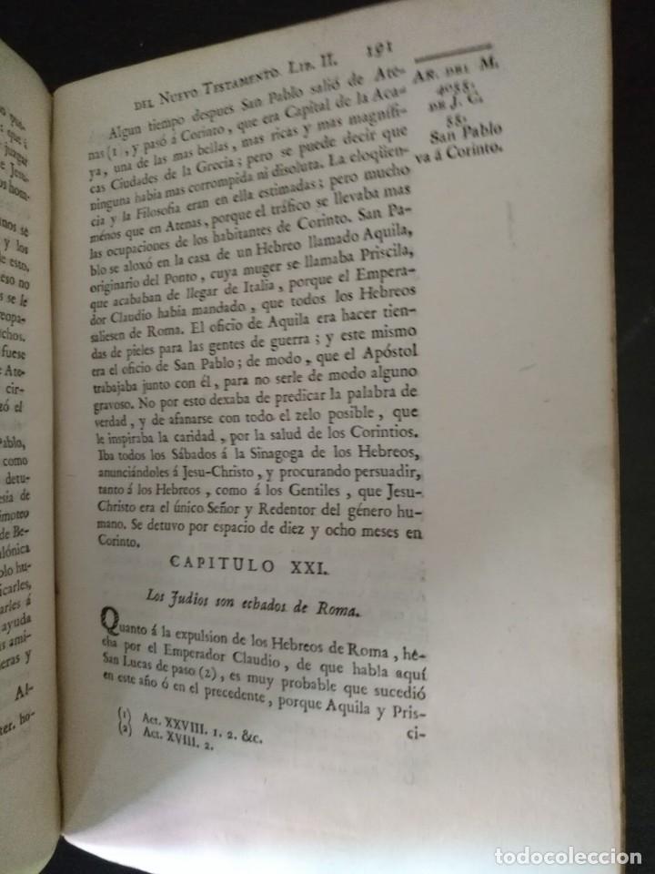 Libros antiguos: CALMET, HISTORIA DEL ANTIGUO ,NUEVO TESTAMENTO Y DE LOS JUDIOS, MADRID 1789, TOMO IV. - Foto 5 - 178562881