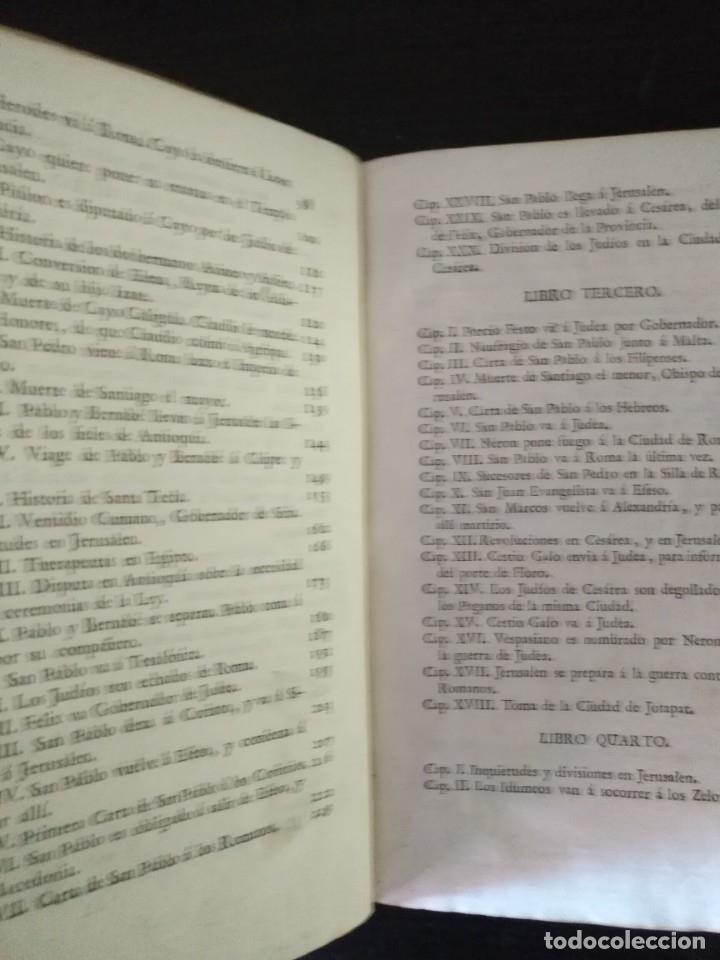 Libros antiguos: CALMET, HISTORIA DEL ANTIGUO ,NUEVO TESTAMENTO Y DE LOS JUDIOS, MADRID 1789, TOMO IV. - Foto 6 - 178562881