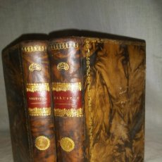 Libros antiguos: OBRAS DE CAYO SALUSTIO CRISPO - IMPRENTA REAL AÑO 1804 - BELLAS ENCUADERNACIONES.. Lote 178609157