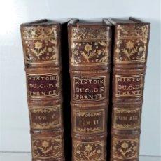 Libros antiguos: HISTOIRE DU CONCILE DE TRENTE. TOMOS I, II Y III. FRA-PAOLO. AMSTERDAM. 1751.. Lote 178870813