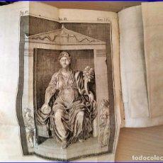 Libros antiguos: AÑO 1750. LIBRO EN PERGAMINO CON ILUSTRACIONES DESPLEGABLES.VENECIA.. Lote 179015538