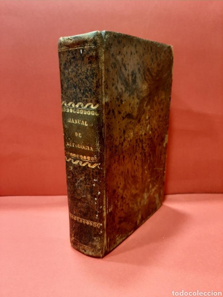 MANUAL DE MITOLOGÍA. COMPENDIO DE LA HISTORIA DE LOS DIOSES. P. DE LA ESCOSURA 1845. (Libros antiguos (hasta 1936), raros y curiosos - Historia Antigua)