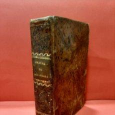 Libros antiguos: MANUAL DE MITOLOGÍA. COMPENDIO DE LA HISTORIA DE LOS DIOSES. P. DE LA ESCOSURA 1845.. Lote 179946830