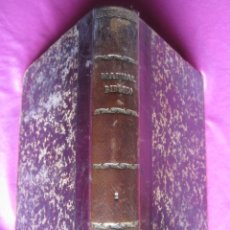 Libros antiguos: MANUAL BÍBLICO O CURSO DE SAGRADA ESCRITURA 1892 TOMO TERCERO. Lote 180507846