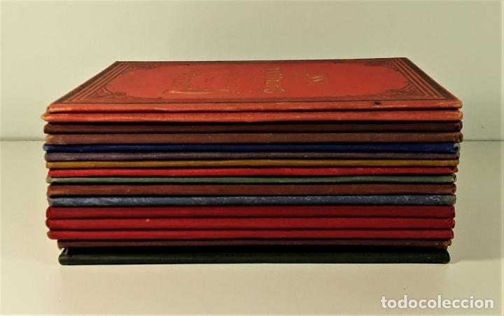 Libros antiguos: CALENDARIO DEL PRINCIPADO DE CATALUÑA. 17 EJEMPLARES. 1887/1900. - Foto 2 - 181323580