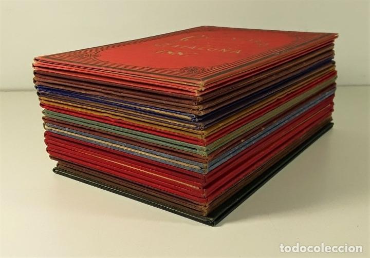 Libros antiguos: CALENDARIO DEL PRINCIPADO DE CATALUÑA. 17 EJEMPLARES. 1887/1900. - Foto 3 - 181323580