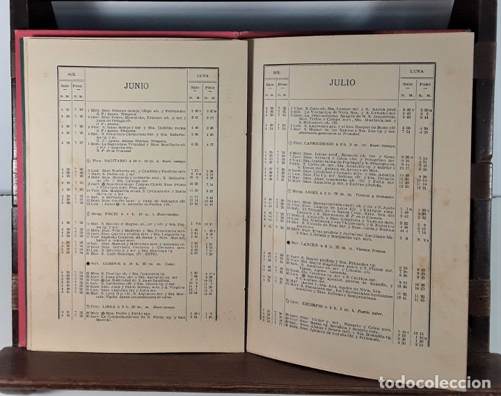 Libros antiguos: CALENDARIO DEL PRINCIPADO DE CATALUÑA. 17 EJEMPLARES. 1887/1900. - Foto 7 - 181323580