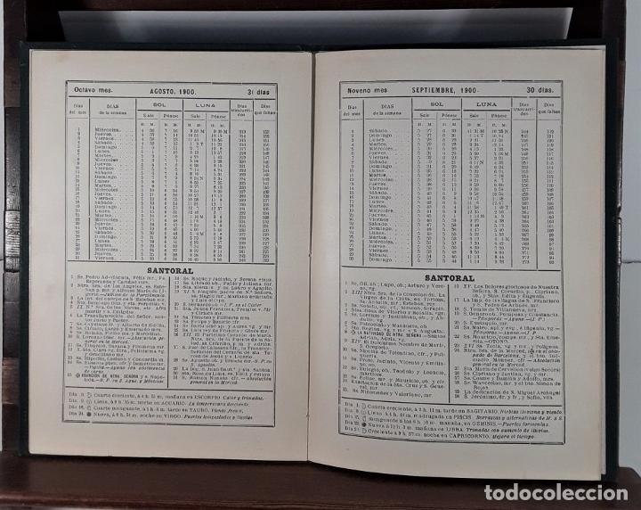 Libros antiguos: CALENDARIO DEL PRINCIPADO DE CATALUÑA. 17 EJEMPLARES. 1887/1900. - Foto 10 - 181323580