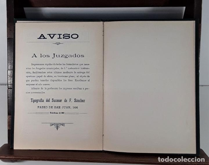Libros antiguos: CALENDARIO DEL PRINCIPADO DE CATALUÑA. 17 EJEMPLARES. 1887/1900. - Foto 11 - 181323580