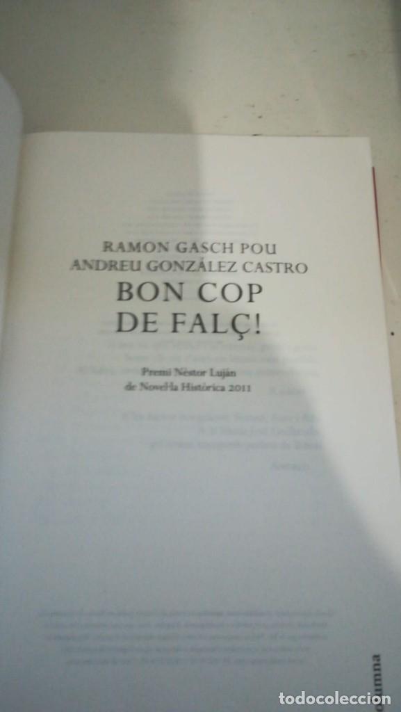 Libros antiguos: Bon cop de falç - Foto 3 - 181345522