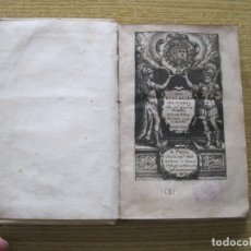 Libros antiguos: LES DISCOURS MILITAIRES, 1622. PRAISSAC. POSEE 84 GRABADOS. Lote 181521486