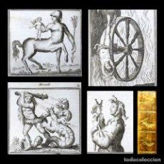 Libros antiguos: AÑO 1797 SOLO 5 EN EL MUNDO MITOLOGÍA ANTIGUA GRECIA Y ROMA ANÁLISIS DE HOMERO Y VIRGILIO GRABADOS. Lote 181530367