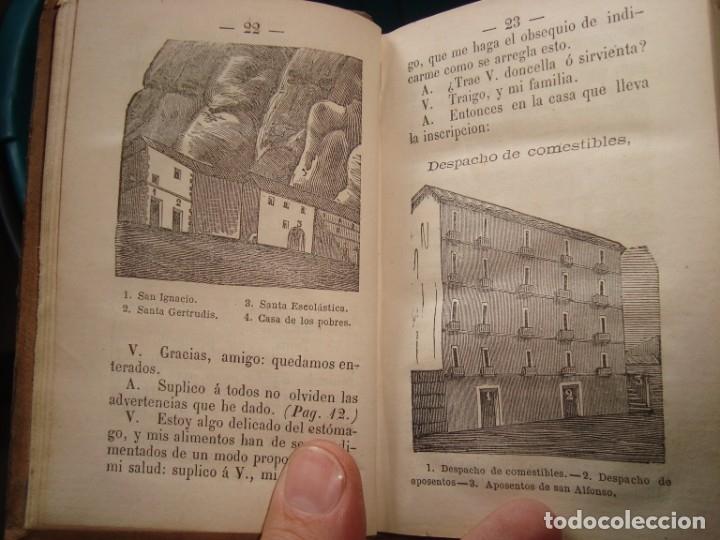 Libros antiguos: EL AMIGO DEL VIAJERO EN MONTSERRAT , MANRESA - Foto 3 - 181942100