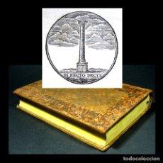 Libros antiguos: AÑO 1780 ACUEDUCTO DE CARTAGO HISTORIA ANTIGUA DE ESPAÑA Y GRAN BRETAÑA JULIO CÉSAR ROMA GRABADO. Lote 182219581