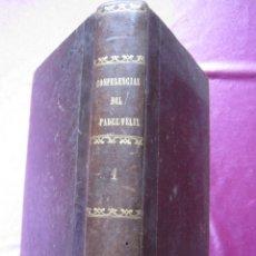 Libros antiguos: CONFERENCIAS DEL PADRE FELIX EN PARIS PENSAMIENTO ESPAÑOL 5 TOMOS AÑOS 1860 A 1864. Lote 182275250
