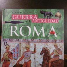 Libros antiguos: ATLAS ILUSTRADO DE LA GUERRA EN LA ANTIGÜEDAD. ROMA. SUSAETA.. Lote 182358193