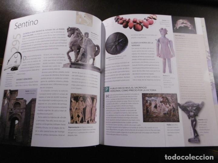 Libros antiguos: ATLAS ILUSTRADO DE LA GUERRA EN LA ANTIGÜEDAD. ROMA. SUSAETA. - Foto 2 - 182358193
