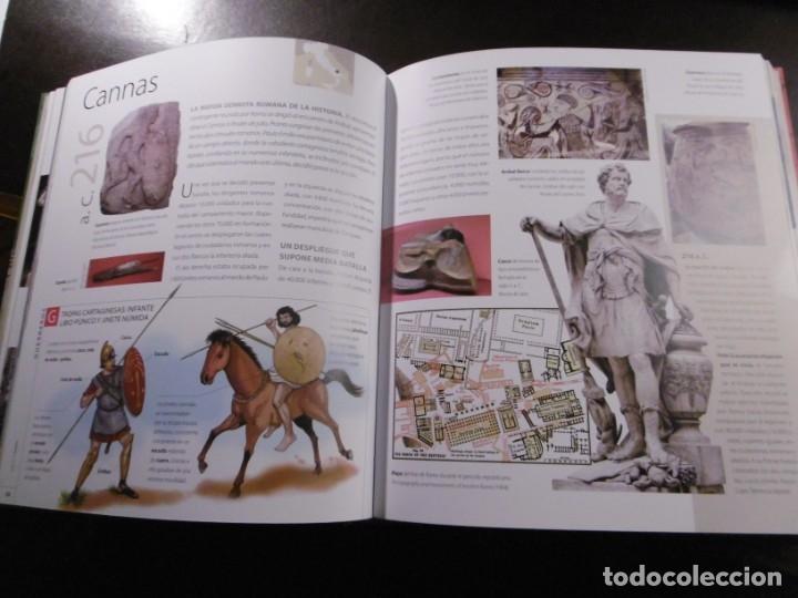 Libros antiguos: ATLAS ILUSTRADO DE LA GUERRA EN LA ANTIGÜEDAD. ROMA. SUSAETA. HISTORIA. - Foto 3 - 182358193
