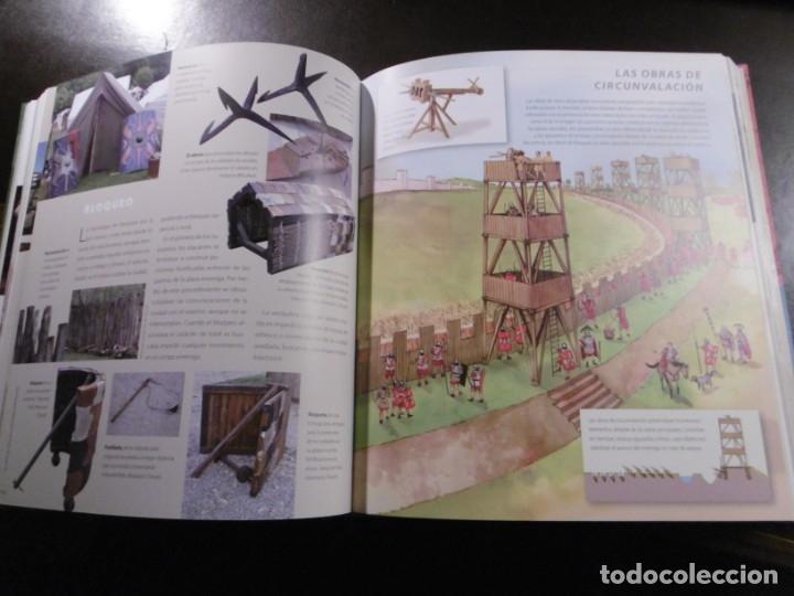 Libros antiguos: ATLAS ILUSTRADO DE LA GUERRA EN LA ANTIGÜEDAD. ROMA. SUSAETA. - Foto 4 - 182358193
