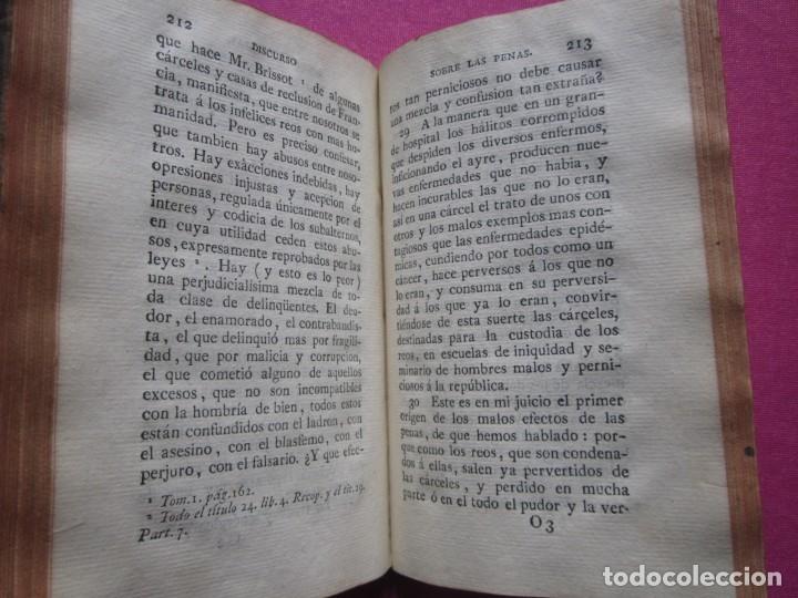 Libros antiguos: DISCURSO SOBRE LAS PENAS A LAS LEYES CRIMINALES DE ESPAÑA J. IBARRA 1782. - Foto 8 - 182403652