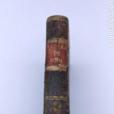 Libros antiguos: LAS PAGINAS DE ORO RETRATO DE NAPOLEÓN 1829. Lote 182477067
