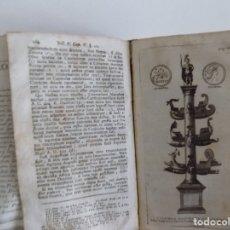 Libros antiguos: LIBRERIA GHOTICA. NIEUPOORT. RITUUM,QUI OLIM APUD ROMANOS OBTINUERUNT.1774.RITUALES PAGANOS.GRABADOS. Lote 182756051
