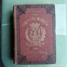 Libros antiguos: BIBLIOTECA HISTORICA DE CARTAGENA. GREGORIO VICENT Y PORTILLO. 1889. Lote 182774473