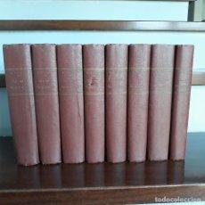 Libros antiguos: SOLARES MONTAÑESES. VIEJOS LINAJES DE LA PROVINCIA DE SANTANDER. OBRA COMPLETA 8 TOMOS. 1925-1934.. Lote 182803275