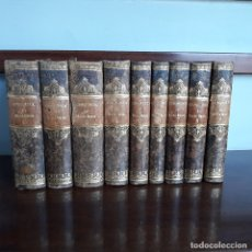 Libros antiguos: CONQUISTA DEL NUEVO MUNDO. OBRA COMPLETA 9 TOMOS. MADRID. AÑO 1829.. Lote 182806000