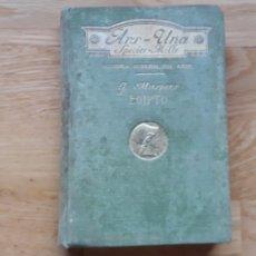 Libros antiguos: EL ARTE EN EGIPTO, G. MASPERO,. Lote 182880915