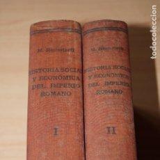 Libros antiguos: HISTORIA SOCIAL Y ECONÓMICA DEL IMPERIO ROMANO. M. ROSTOVTZEFF. Lote 182941773