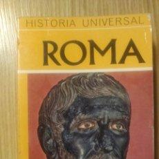 Libros antiguos: HISTORIA UNIVERSAL -- ROMA -- DAIMON. Lote 183756415