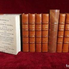 Libros antiguos: HISTORIA DE LA REVOLUCIÓN DE FRANCIA. FRANCISCO GRIMAUD DE VELAUNDE. 10 TOMOS. NUÑEZ. MADRID.1814. Lote 183758957
