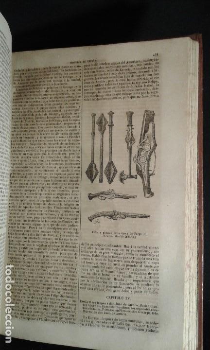 Libros antiguos: Historia General de España. Padre Mariana. Gaspar y Roig. Tomo I y II. Madrid. 1852. - Foto 2 - 183774035