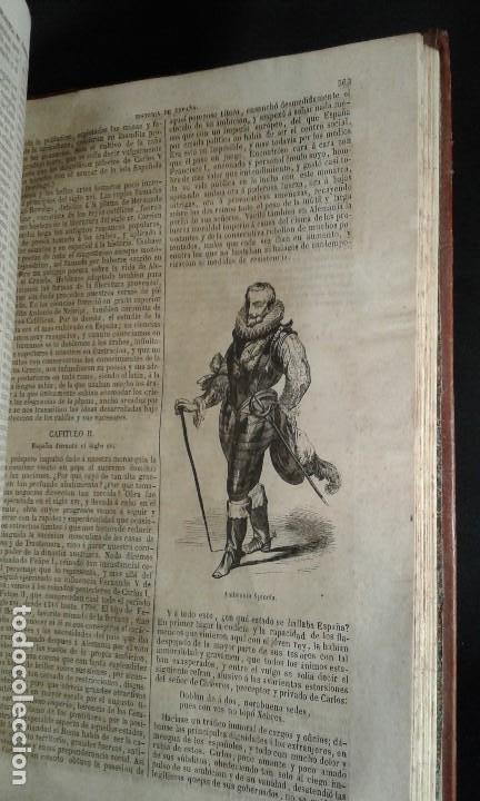 Libros antiguos: Historia General de España. Padre Mariana. Gaspar y Roig. Tomo I y II. Madrid. 1852. - Foto 3 - 183774035