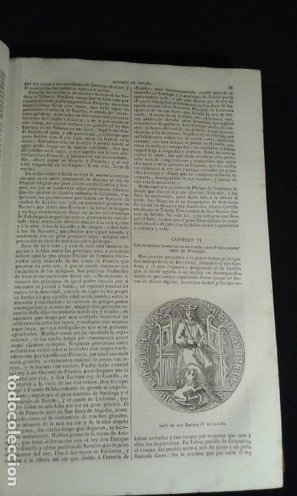 Libros antiguos: Historia General de España. Padre Mariana. Gaspar y Roig. Tomo I y II. Madrid. 1852. - Foto 4 - 183774035