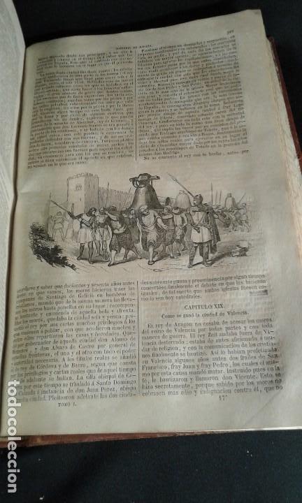 Libros antiguos: Historia General de España. Padre Mariana. Gaspar y Roig. Tomo I y II. Madrid. 1852. - Foto 12 - 183774035
